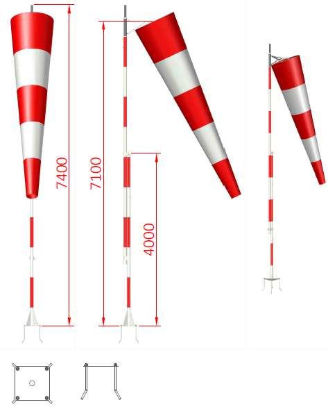 Wind Direction Indicators Icao Stna Delta Box
