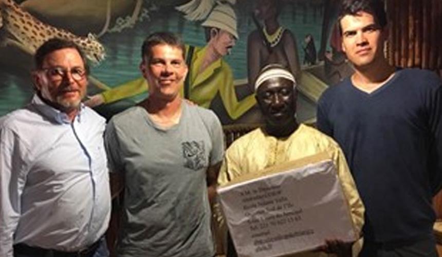 Delta Box sponsorise un projet caritatif au Sénégal