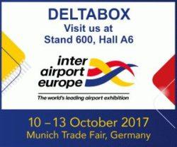 Retrouvez-nous au salon Inter Airport Europe 2017