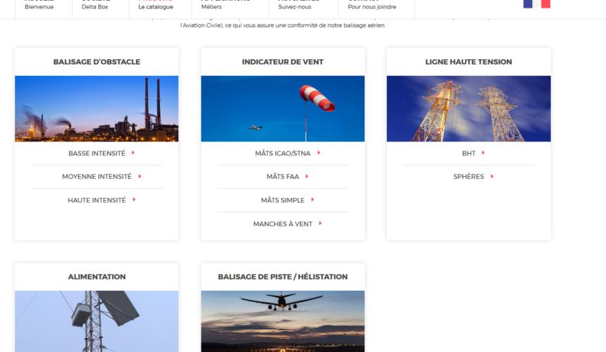 Delta Box lance son nouveau site Internet !
