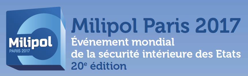 Retrouvez-nous sur le salon MILIPOL à Paris-Nord Villepinte