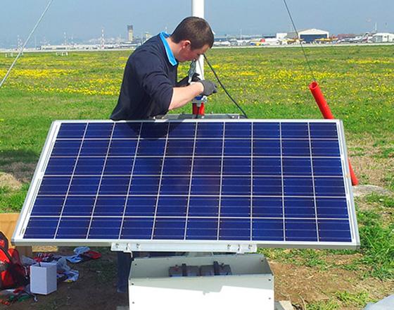 SOLAR POWER SUPPLY – SOLAR STATION OBSTACLE LIGHTS