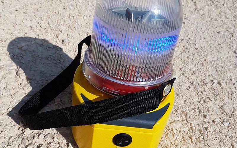 Delta Box presents its new Portable Beacon !