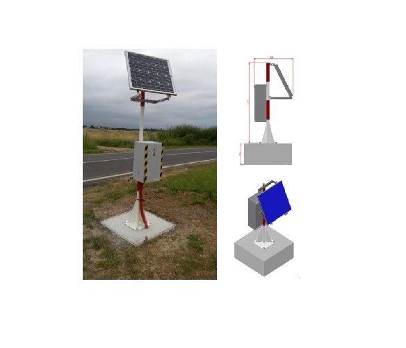 Station TORA DELTA BOX pour Route de service Aéroport